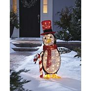 CANVAS Incandescent Whimsical Penguin, 35-in