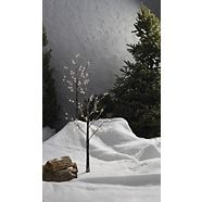 CANVAS Frosted Twig Tree with Pre-Lit LED Christmas Lights, 48-count, 2-pk