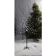 CANVAS Pre-Lit LED Blossom Tree, 100-count, 4-ft, 2-pk