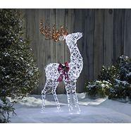 CANVAS LED Micro-Brite Deer, 4-ft