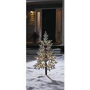 CANVAS Pre-Lit LED Eastern White Pine Tree, 4-ft