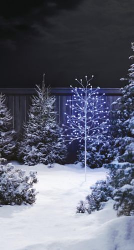 Arbre illuminé à DEL CANVAS, couleurs changeantes, 5 pi Image de l'article
