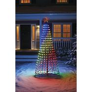 CANVAS LED Pixel Tree with Music, 7.5-ft