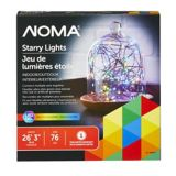 Noma outdoor starry christmas lights multicolour with green wire noma outdoor starry christmas lights multicolour with green wire aloadofball Image collections