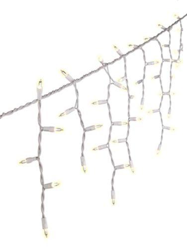 Lumières glaçons incandescentes For Living, transparent avec fil blanc, paq. 300 Image de l'article