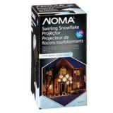 NOMA Light Show Snowflake Projector, Assorted