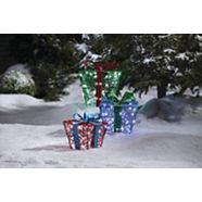 CANVAS LED Whimsical Gift Boxes, 3-pk