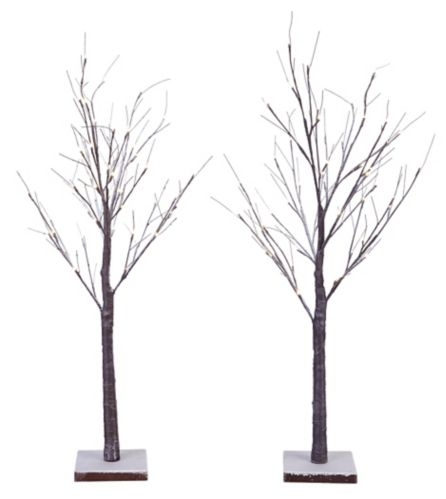 Noma Branch Tree With Led Christmas Lights 4 Ft 2 Pk
