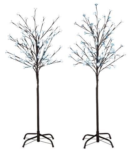 Noma Blossom Tree With Led Christmas Lights 4 Ft 2 Pk Canadian Tire