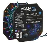 NOMA 150 LED Outdoor Cluster String Light Show, Warm White/Multi-Colour | NOMA | Canadian Tire