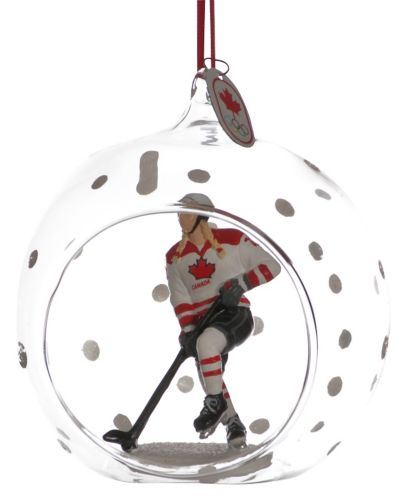 Collectible Canadian Olympic Team Hockey Ornament