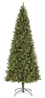 meet 3a51a f7777 NOMA Pre-Lit Marcelle Slim Mixed Tip Christmas Tree, 7-ft