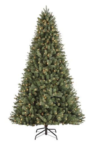 NOMA Pre-Lit Winston Spruce Christmas Tree, 7.5-ft ...