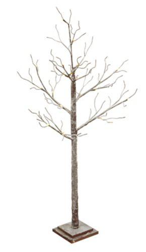 NOMA Flocked Twig Tree, 4-ft Product image