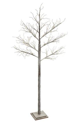NOMA Flocked Twig Tree, 6.5-ft Product image