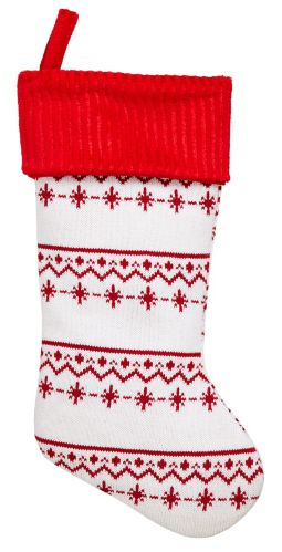 CANVAS Nordic Knit Stocking, 22-in Product image