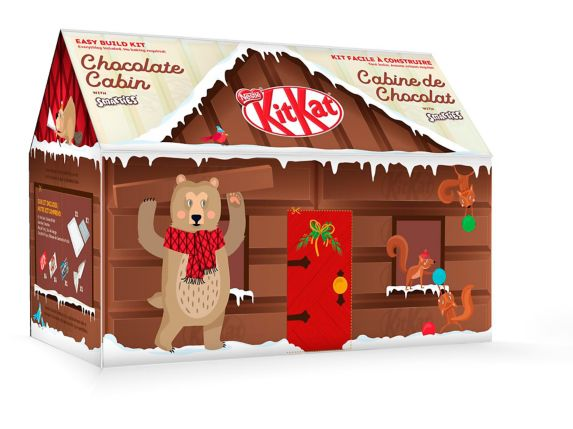 Nestle Kit Kat Log Cabin Kit Product image