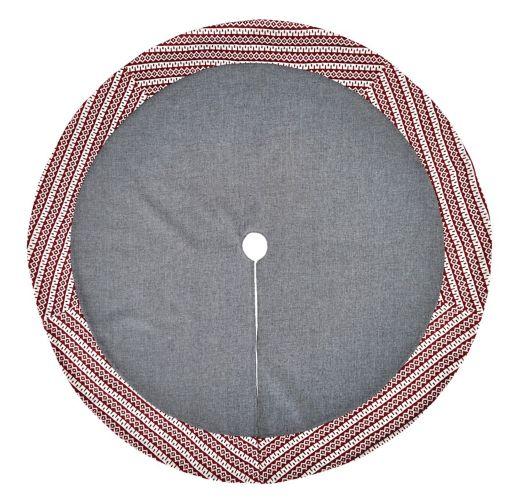 CANVAS Diamond Knit Tree Skirt, 48-in