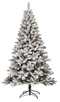 7 Ft Christmas Tree Prelit.Noma Cypress Pre Lit Christmas Tree 7 Ft