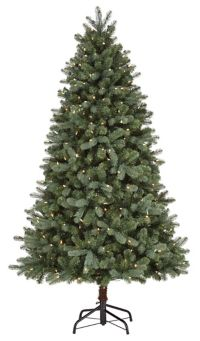 brand new fd787 1a5d5 NOMA Elegant Pre-Lit Twinkle Light Christmas Tree, 6.5-ft