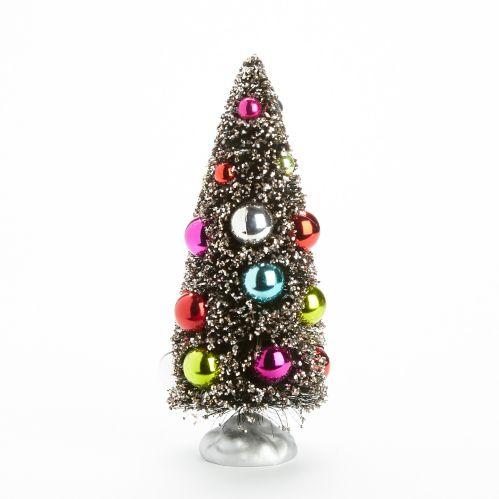 CANVAS Brush Christmas Tree Bottle
