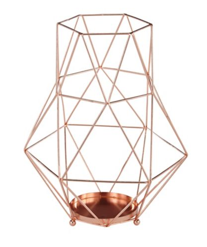 CANVAS Geometric Vase, Assorted, Rose Gold Product image