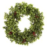 CANVAS Boxwood Berry Wreath, 24-in | CANVAS | Canadian Tire