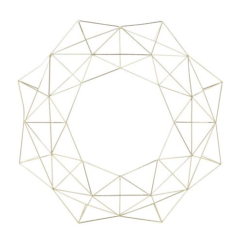 CANVAS Geometric Cut-Out Wreath, 20-in Product image