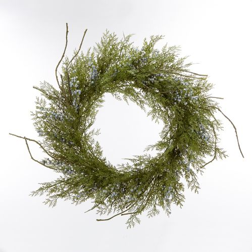 CANVAS Cedar Blueberry Wreath, 24-in Product image