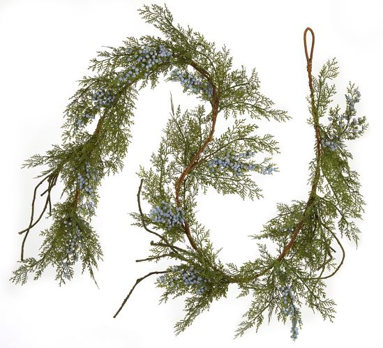 CANVAS Cedar Blueberry Garland, 6-ft Product image