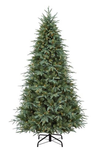 CANVAS Pre-Lit Glacier Blue Spruce Christmas Tree, 7-ft Product image