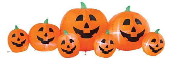 For LivingInflatable Pumpkin Patch, 8-ft Product image