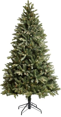 CANVAS Pre-lit Powdered Peak Fir Tree, 7-ft Product image