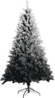 Noma Pre Lit Silver Ombre Tinsel Tree 7 Ft Canadian Tire