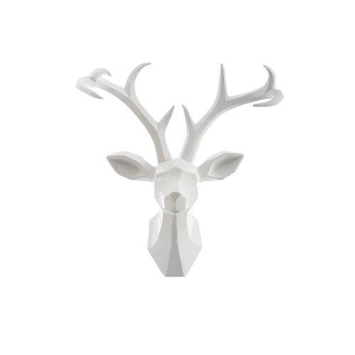 CANVAS Resin Reindeer Head, 22.5-in
