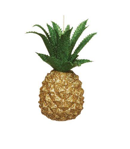 Ornement en ananas CANVAS Collection, vives