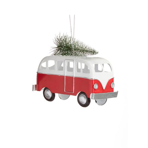 CANVAS Brights Collection  Camper Van Ornament, Assorted