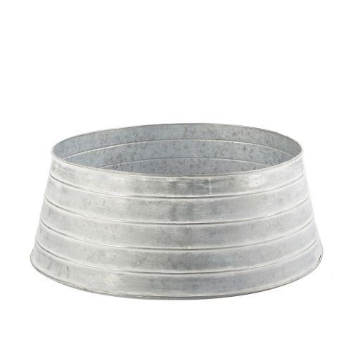 CANVAS Galvanized Metal Circle Tree Skirt, 25-in