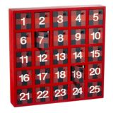 Calendrier de l'Avent en bois For Living, varié, 13 po | FOR LIVINGnull
