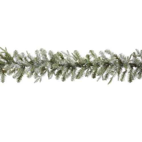 CANVAS Frosted Fir Pre-Lit Garland, 9-ft Product image