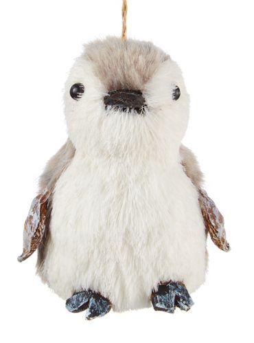 CANVAS White Collection Penguin Ornament