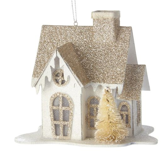 CANVAS White Collection House Ornament