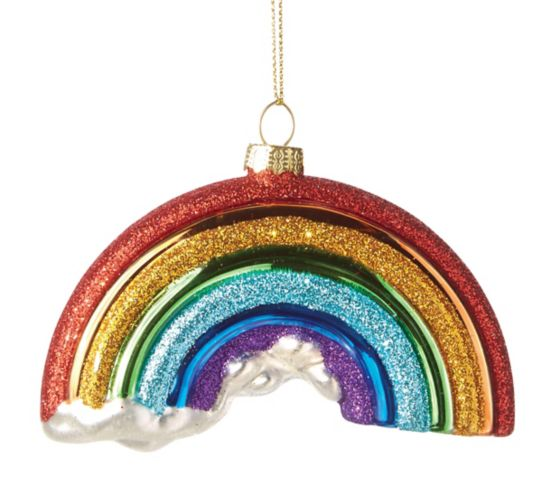 CANVAS Brights Collection Rainbow Ornament