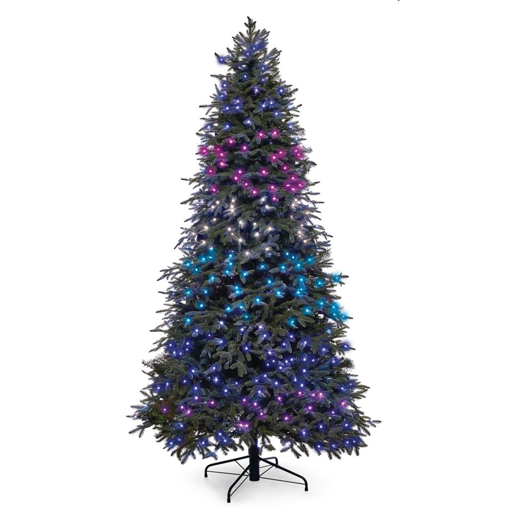 Noma Advanced Aurora Music & Light Show Christmas Tree, 7.5-ft