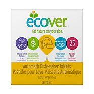 Ecover Automatic Dishwasher Tablets, Citrus, 25-ct