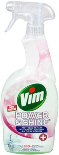 Vim Power & Shine Spray Antibacterial Multi-Purpose Cleaner, 700-mL Product image