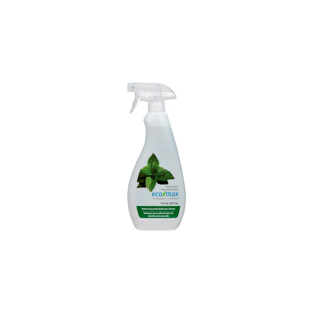 Eco-Max Natural Bathroom Cleaner Spearmint, 710-mL