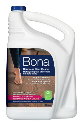 BONA Hardwood Floor Cleaner Refill, 4.73-L