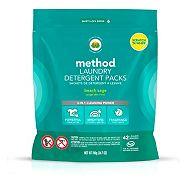 method Monodose Beach Sage Laundry Detergent, 42-pk