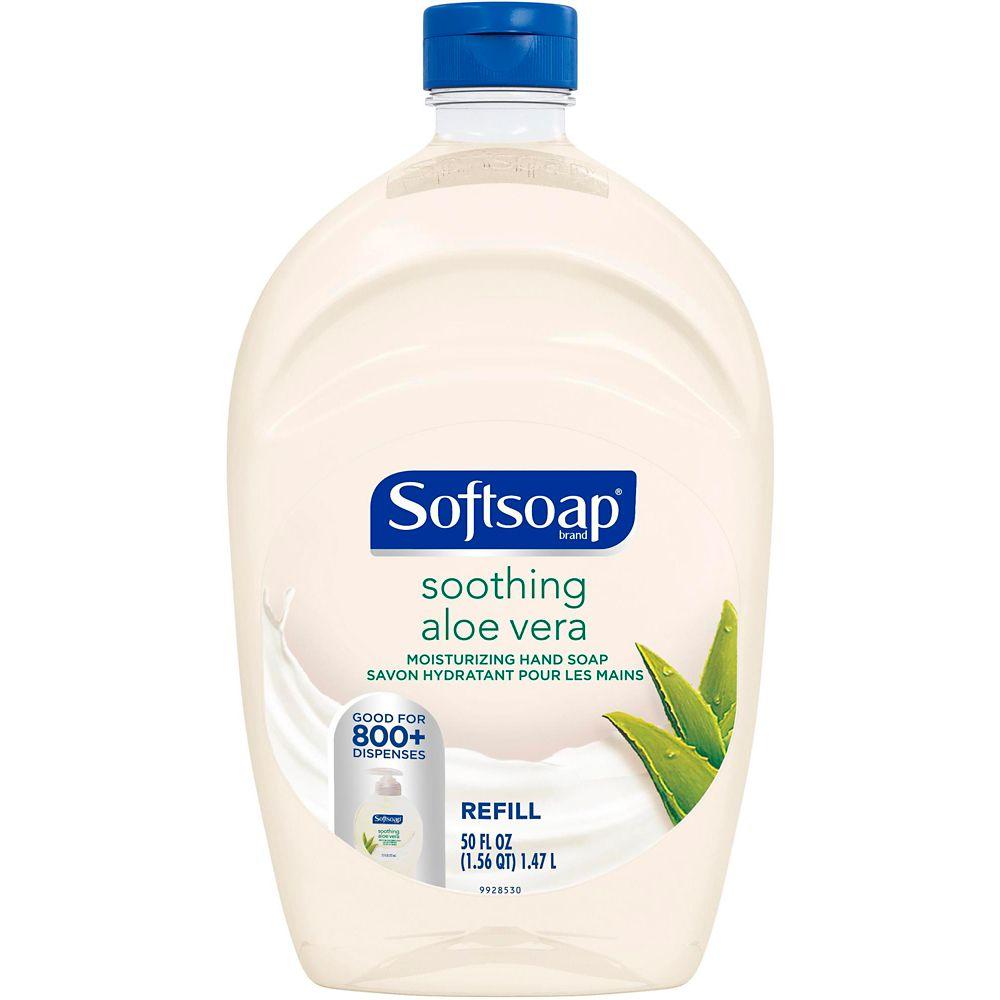 Soft Soap Moisturizing Liquid Hand Soap Refill, 1.47-L